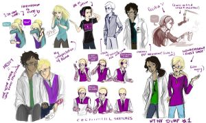 Welcome to Night Vale SKETCH DUMP by Vanilla-Fireflies