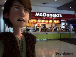 Hiccup do not like McDonald's by danielammd