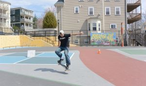 The Skateboarder Action Shot 3 by Miss-Tbones