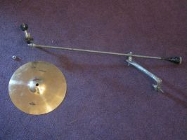 homemade cymbal stand 1 by ownerfate