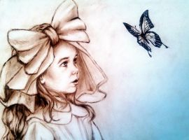 Butterfly by Galinaxsim