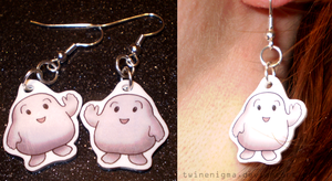 Adipose Earrings by TwinEnigma
