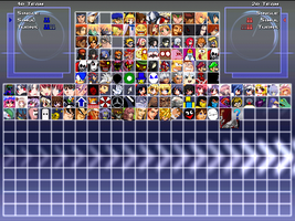current MUGEN characters by xXDarknessShadowXx