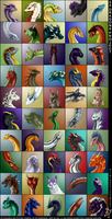 50 Dragons Project by Wyandotte