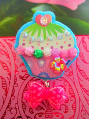 Lovely Cupcake Pin by Stardom7