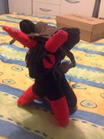 .: Demon Danny Plushie :. by ASinglePetal