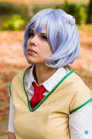 Cosplay Rei Ayanami from Evangelion by MahoCosplay