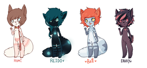 ANTHRO EXAMPLES by Kiwi-adopts