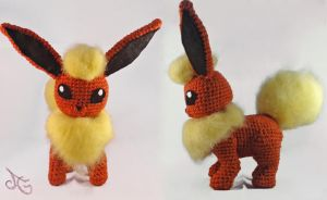 Flareon! by AmiAmaLilium