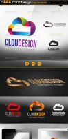 cloud design logo by gomez-design