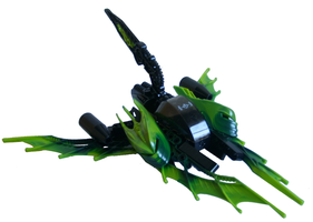 Vic Viper 'Green Storm' by Sparkytron