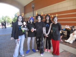 Jafax 2011 Homestuck Trolls by SapphyreEdge72395