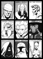 Sketch Cards 11 by PENICKart