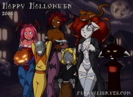 Hallowe'en 2006 by funkyalien