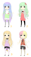 Adoptables .set 2. [OPEN] by Silviiaa