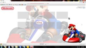 my browser2 with mario cursor by afronoodles
