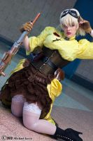 Steampunk Seras Victoria 1 by Insane-Pencil