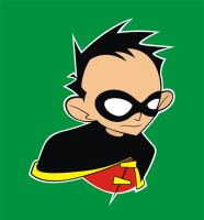 Robin, the Boy Wonder by HeadsUpStudios