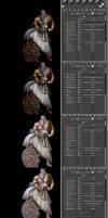 3d-max render groups placement tutorial. by lezisell