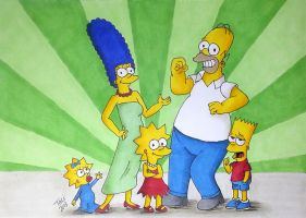 The Simpsons by TaliShemes