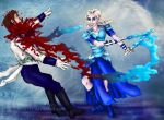 Frozen/300: Rise of Elsa's Empire by mcat711