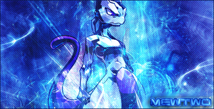 Signature Mewtwo by SuperBrioche