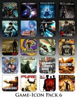 Game Aicon Pack 6 by HarryBana