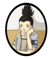 sketches : Shikamaru by Osato-kun