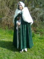 Medieval Dress, Lady Augustina by Thoaee