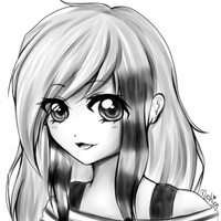 .: Headshot Sketch Gift :. by Meshion