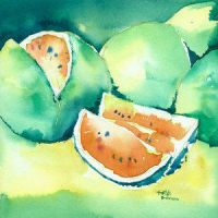 watermelons by t-o-r-V-s by TraditionalArt