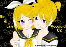Kagamine Twins by MkPropus