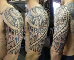 Glen aka BRUNOs arm by phoenixtattoos