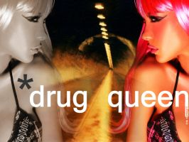 Drug queen by carlossaraivadesign