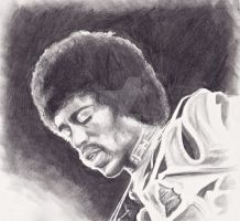 Jimi Hendrix by RushYesZeppelin