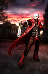 Devil May Cry 4 Render by FearEffectInferno
