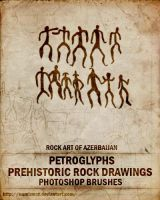 Prehistoric rock drawings by Numizmat