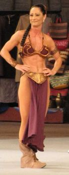 Finally, Muscular Slave Leia by olympic1916