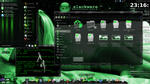 green slack desktop by DaemonHannibal669