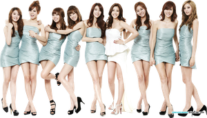 After School and Son Dam Bi Render by foreverGIKWANG