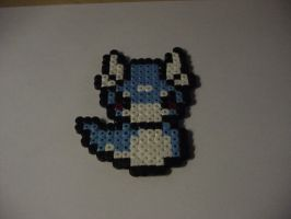 Dratini - Perler Beads by BlackDevil000