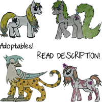 Poniesss~ :ALL SOLD: Customs Avail. Read Descript. by Sesshomaru-XD-13