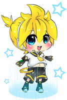 Example Commission: Len x3 by Noririn-Hayashi