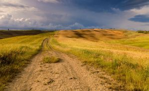 Tuscany routes by JPawlak