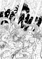 Path Of The Dead - Pencils by Paladin-Ciel