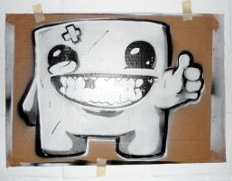 Super Meat Boy by AmineShow