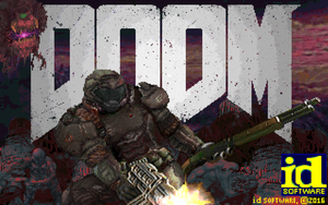 DOOM 2016 Titlepic! by Zetores