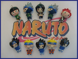 Chibi-Charms: Naruto Main Cast by MandyPandaa