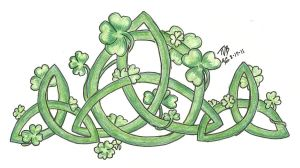Celtic Clover Knotwork by ToxicDragonBlood