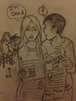Morning Paper. by DidxSomeonexSayxMad
